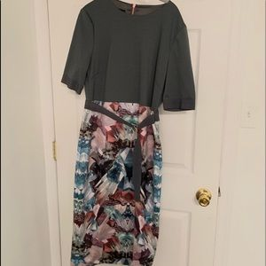 Ted Baker mirrored mineral dress